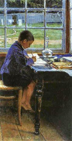 Doing the Lessons Nikolay Bogdanov-Belsky