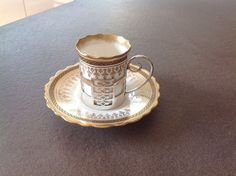 Solid Silver Cup Holder with Aynsley Porcelain Coffee Can 1920 Vintage   eBay