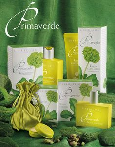Primaverde L'Erbolario a perfect spring summer scent. Not sweet at all. Surround yourself with green floral.