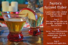 Santa's Spiked Cider ~ Southern Holiday Life Magazine