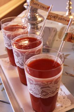THE LADY MARY COCKTAIL Downton Abbey Party Ideas