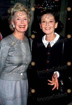 Dina Merrill and Audrey Hepburn Craig Skinner/Globe Photos, Inc.