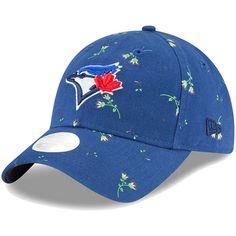 new product c77a4 8ed4d Women s Toronto Blue Jays New Era Royal Blossom 9TWENTY Adjustable Hat,   23.99 Strapback Cap