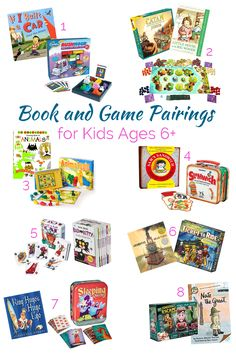 Book And Game Pairings PLUS The Hottest New Reading Toy