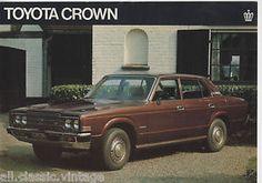 TOYOTA - Crown leaflet brochure/prospekt/folder Dutch 1977 | eBay