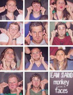 Monkey Faces... Goobers!!! :)