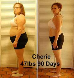Cherie 47 lbs. 90 Day Body by Vi Challenge!