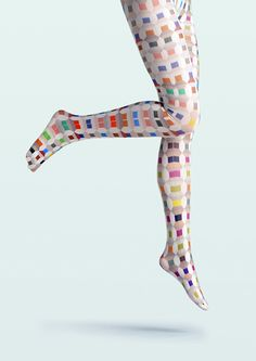 Viken Plan Ceative Designed Tights & Colorful Stockings - Color of Energy - Empress Loves Thigh High Socks, Thigh Highs, Knee Highs, Pantyhosed Legs, Sock Monster, Toe Socks, Patterned Tights, Lovely Creatures, Tights And Boots