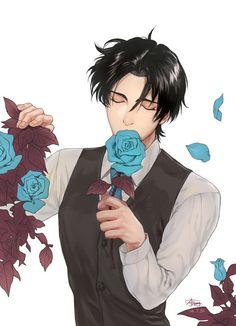 Dick Grayson! & Blue Roses?!?!? *faints*