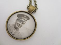 OOAK  Vintage Photography Necklace  by PeachStreetBridge on Etsy, $14.00