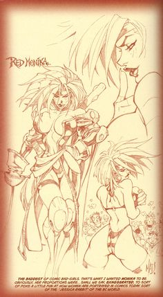 Battle Chasers #1 sketches