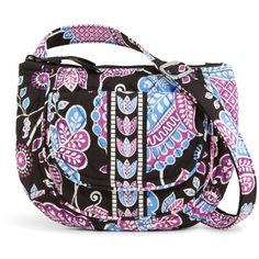 96462841de06 Vera Bradley Lizzy Crossbody in Alpine Floral ( 48) ❤ liked on Polyvore  featuring bags