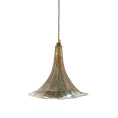 Discover+the+Mullan+Gramophone+Pendant+Light+-+Antique+Brass+at+Amara