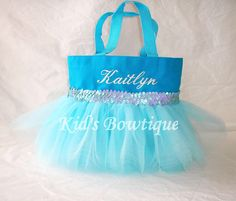 Cinderella Inspired Tutu Tote Bag. via Etsy.