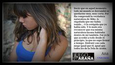 """Ana """"El Juego de la Araña"""""""