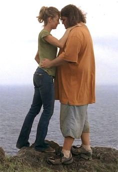 """Hurley and Libby from """"LOST"""""""