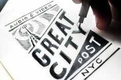 Great City Post   No Entry Design