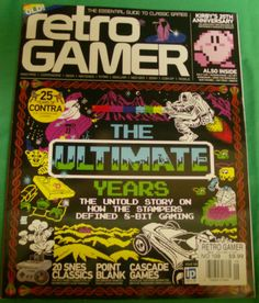 Retro Gamer Magazine Ultimate Years 8 Bit Contra Kirby SNES Issue Load 109
