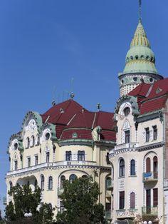 Unirii Square, Oradea, Romania...