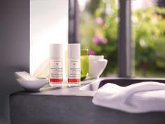 Wellnesshotel Bayern: Wir verwenden ausschließlich Naturkosmetik - zum Beispiel von Dr. Hauschka