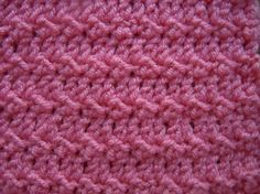 floret crochet stitch pattern