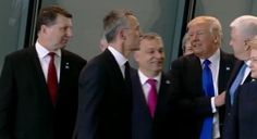Is This A Video Of Trump Pushing The PM Of Montenegro Out Of The Way?