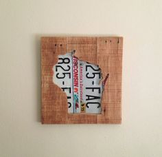 Hey, I found this really awesome Etsy listing at https://www.etsy.com/listing/249131326/wood-wisconsin-art-wisconsin-license