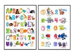 Poster Fürs Kinderzimmer | Poster Furs Kinderzimmer Eine Messlatte Ein Abc Poster Ein