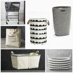 inspiration | modern laundry baskets