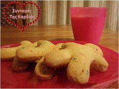ΣΥΝΤΑΓΕΣ ΤΗΣ ΚΑΡΔΙΑΣ: Μπισκότα αμυγδάλου με κερασάκια Pudding, Cookies, Desserts, Blog, Crack Crackers, Tailgate Desserts, Deserts, Puddings, Cookie Recipes