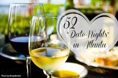 Find 52 Romantic and Fun Date Night Ideas in Atlanta! Restaurants, Outdoor Adventures, Overnights, and more! This list is updated regularly.