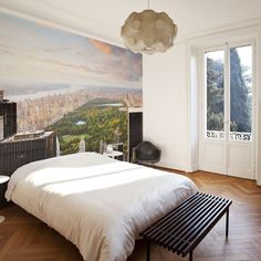 Eazywallz - View of Central Park Wall Mural, $149.00 (http://www.eazywallz.com/view-of-central-park-wall-mural/)