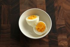 Hardboiled eggs Sous-vide eggs made their way around pretty much every fancy restaurant's menu in some form or another between five and ten years ago. It's one of the easiest and best uses of a sous-vide style water circulator—it required no expensive vacuum sealer (the eggs cook directly in their shells), and it allowed chefs to achieve textures with eggs that they had never been able to achieve before.