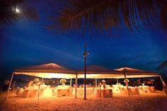 The incredible reception in Maroma Beach Mexico! {Elizabeth Medina Photography}