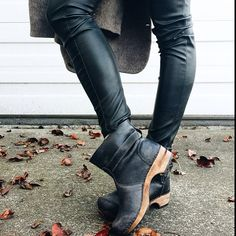 Shoppeu Bird from Instagram loves her Sanita Mina Clog Boots she's got great style!