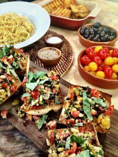 @Fabio Viviani cooks Cacio e Pepe & Bruschetta! #HomeandFamily #HomeandFamilyTV #Italian #Bruschetta #CacioEPepe #Tapenade