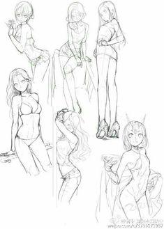 Female pose reference, manga poses, anatomy drawing, anatomy art, anatomy p Female Drawing Poses, Male Figure Drawing, Figure Drawing Reference, Body Drawing, Manga Drawing, Drawing Sketches, Art Drawings, Anime Poses Female, Female Pose Reference