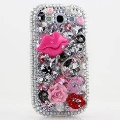 "Style 488 Bling case for all phone / device models. This Bling case can be handcrafted for Samsung Galaxy S3, S4, Note 2. The current price is $79.95 (Enter discount code: ""facebook102"" for an additional 10% off during checkout)"
