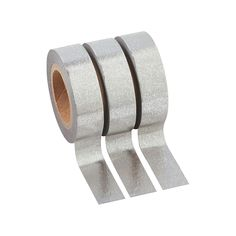 Silver+Washi+Tape+Set+-+OrientalTrading.com - $4.99/3 rolls (16 ft/each)