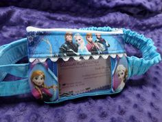 Ice Queen Window Insulin Pump Pouch Case W/ Anna Elsa - what little kid would not go crazy over this! Great gift!