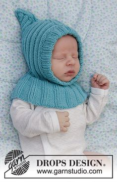 Legolas, Baby Patterns, Knitting Patterns Free, Free Knitting, Crochet Patterns, Drops Design, Baby Hats Knitting, Knitted Hats, Crochet Baby