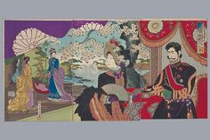 "Hashimoto Chikanobu    Apr. 1887"""