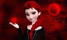 Vampire Elsa by Egylon