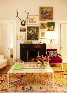 Birch + Bird Vintage Home Interiors » Blog Archive » Eclectic Gallery Walls
