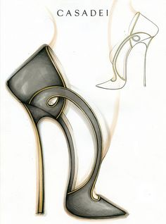 Casadei's Sketch  #Chic pump