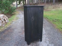 Primitive-Handcrafted-Country-Cupboard