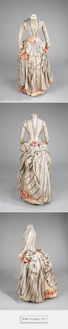 Dress ca. 1885 American | The Metropolitan Museum of Art - created via https://pinthemall.net