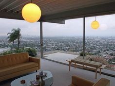 The Stahl House in LA