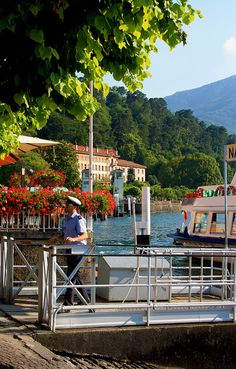 Bellagio town by Como lake, Italy