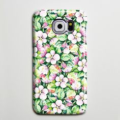 Green Pink Floral Ethnic Galaxy s6 Edge Plus Case Galaxy s6 s5 Case Samsung Galaxy Note 5 4 3 Phone Case s6-073